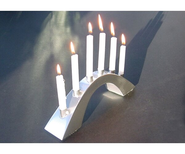 George Schmidt Arch Metal Candle Dish by Ginkgo