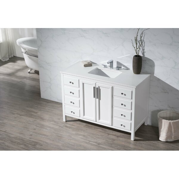 Carpentier 49 Single Bathroom Vanity Set by Brayden Studio