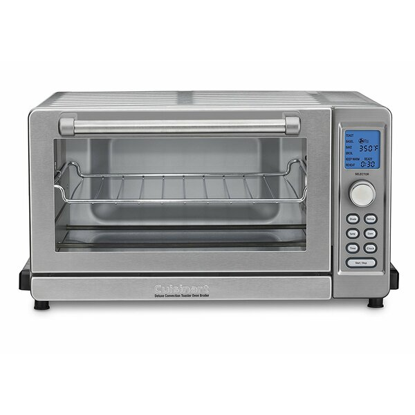 0.6 Cu. Ft. Deluxe Convection Countertop Oven by Cuisinart