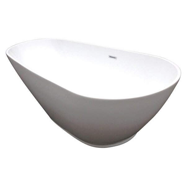 Aqua Eden 69 x 32.3 Soaking Bathtub by Kingston Brass