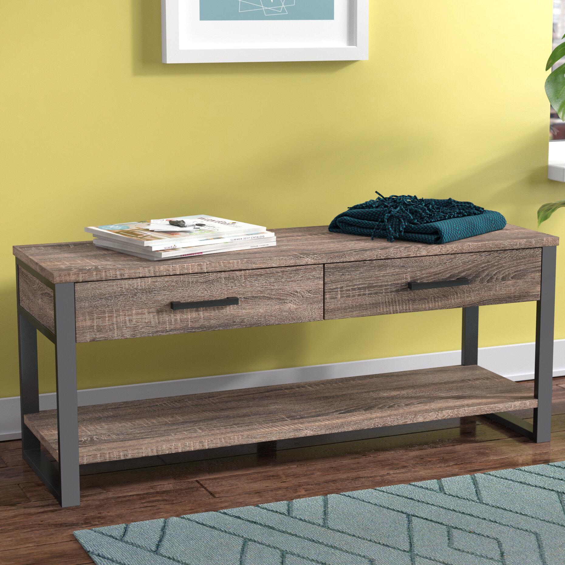 Orren Ellis Arsdale Wood Storage Bench & Reviews | Wayfair
