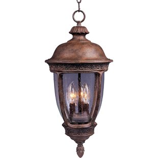 Online Reviews Diahann 3-Light Outdoor Hanging Lantern By World Menagerie