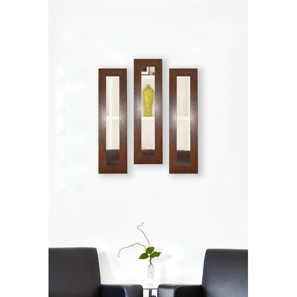3 Piece Trujillo Panels Mirror Set (Set of 3) by Millwood Pines