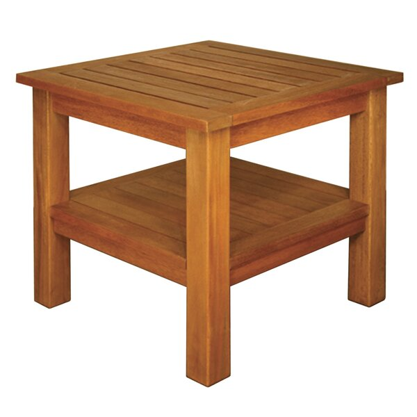 Whitton Two Shelf High End Table by Highland Dunes Highland Dunes