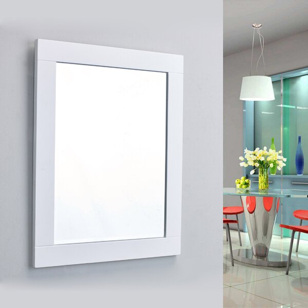 Pichardo Rectangle Framed Bathroom Wall Mirror by Brayden Studio
