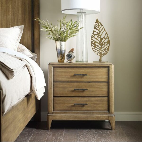 Annabella 3 Drawer Nightstand by Foundry Select