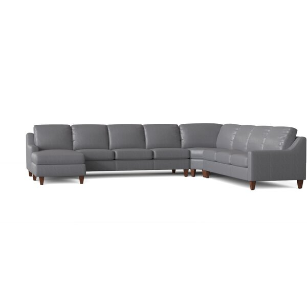 267 Leather Sectional