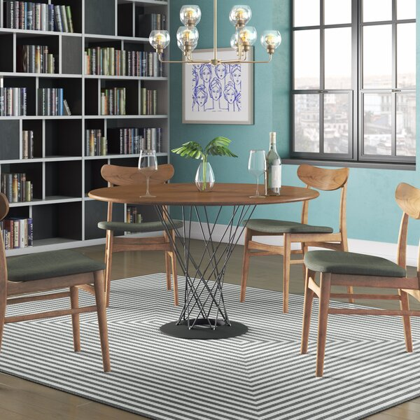 Dripping Springs Wood Top Dining Table by Corrigan Studio