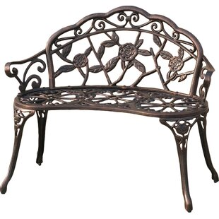Cait Metal Garden Bench By A&J Homes Studio