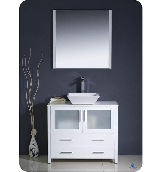 Torino 36 Single Bathroom Vanity Set with Mirror by Fresca