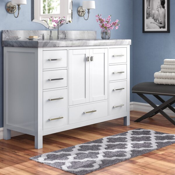 Laub Modern 54 Single Bathroom Vanity Set by House of Hampton