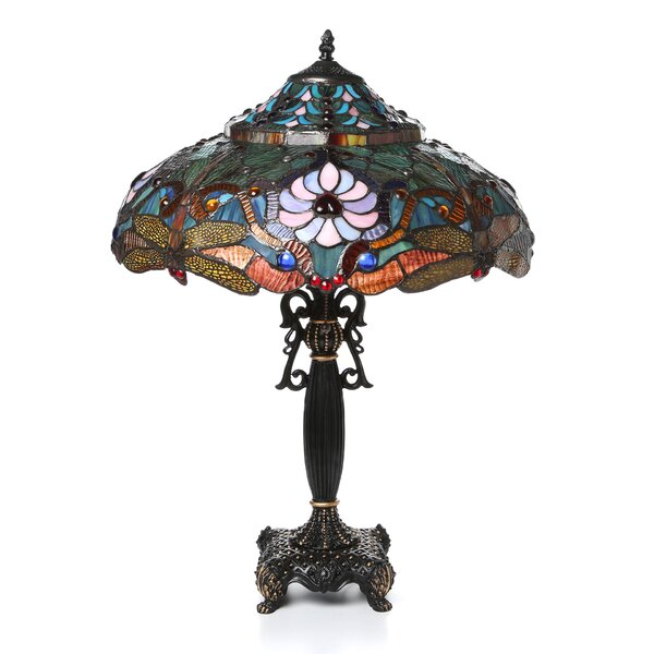 Beley Dragonfly 27 Table Lamp by Astoria Grand