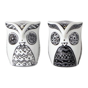2 Piece Owlets Salt and Pepper Set By Topchoice