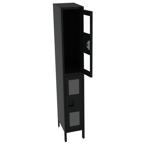2 Tier 1 Wide School Locker by Tennsco Corp.