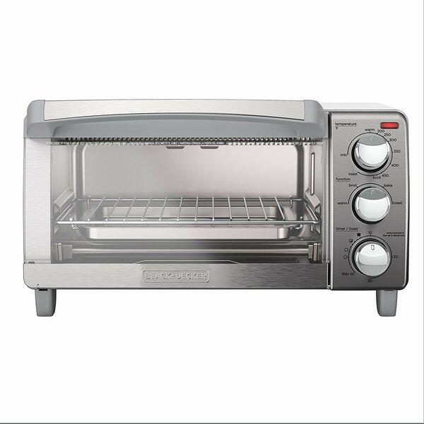 4-Slice Countertop Oven by Black + Decker