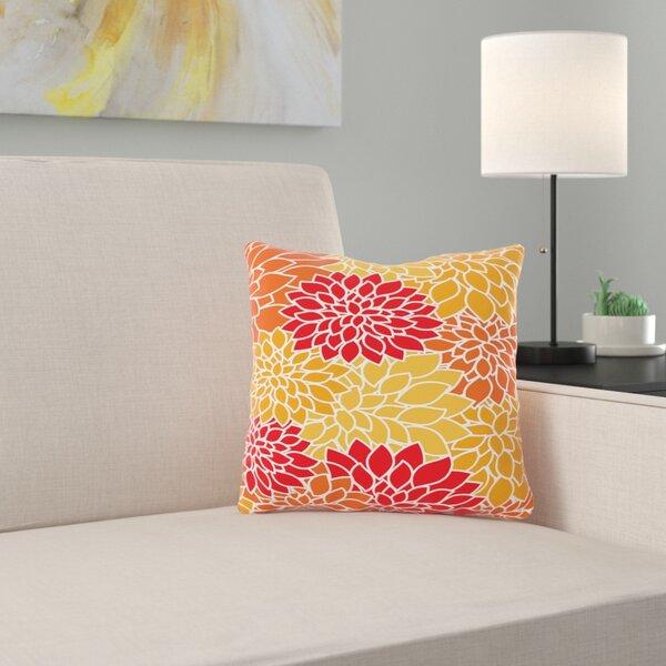 Jose Flower Throw Pillow by Zipcode Design
