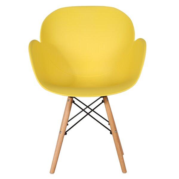 Rowles Arm Chair In Yellow (Set Of 4) By Corrigan Studio
