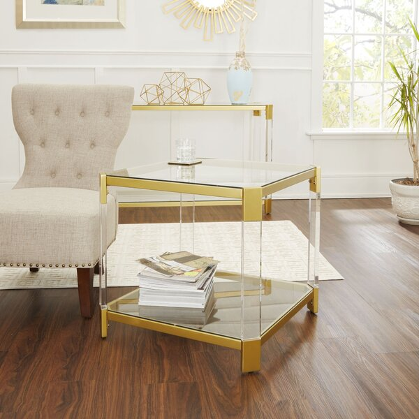Hythe End Table By Everly Quinn