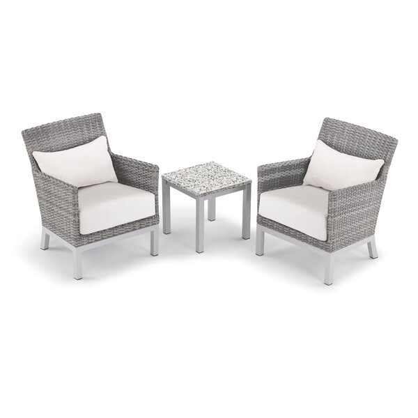 Saint-Pierre 3 Piece Seating Group with Cushion by Brayden Studio