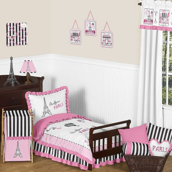Paris 5 Piece Toddler Bedding Set by Sweet Jojo Designs