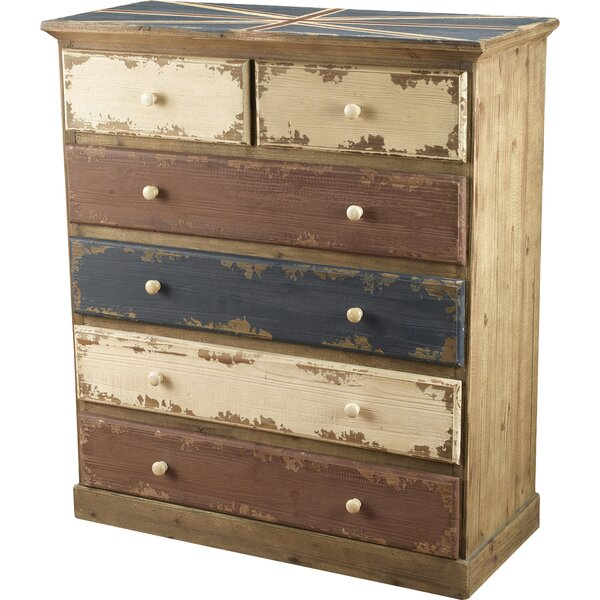 Kinzie 6 Drawer Accent Chest by World Menagerie