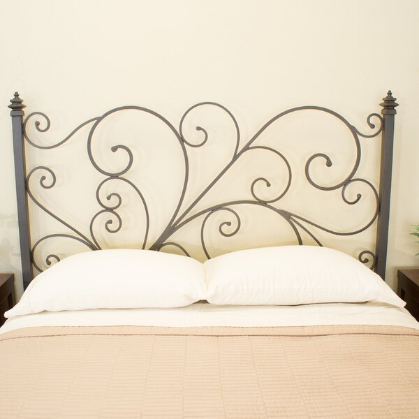 Holly Open-Frame Headboard by Benicia Foundry and Iron Works