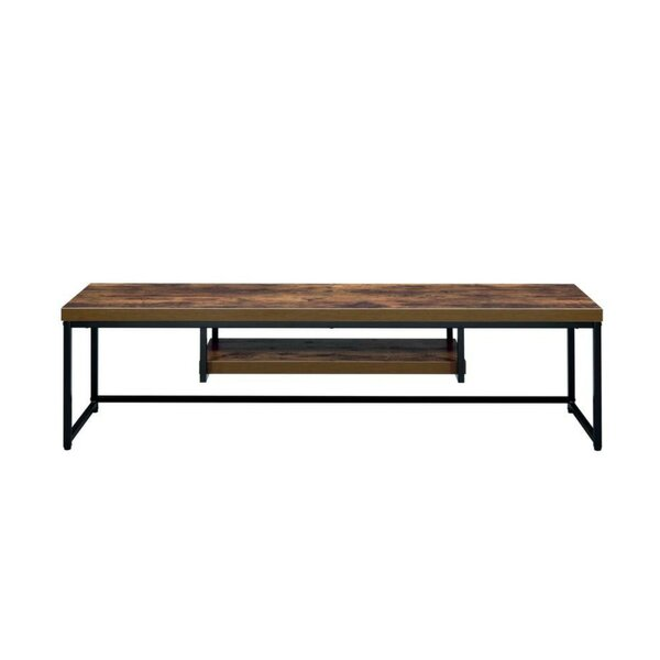 Buehler Wood and Metal TV Stand for TVs up to 58