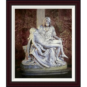 Pieta by Michelangelo Framed Photographic Print by Global Gallery
