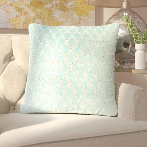 Boughton Cotton Throw Pillow by Rosdorf Park
