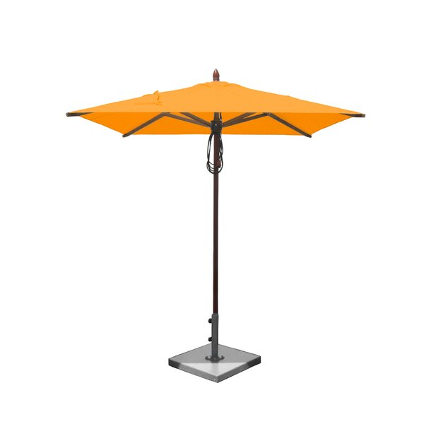 Verlaine 6.5' Square Market Umbrella by Highland Dunes Highland Dunes