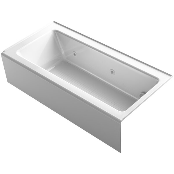 Bellwether 66 x 32 Alcove Whirlpool by Kohler