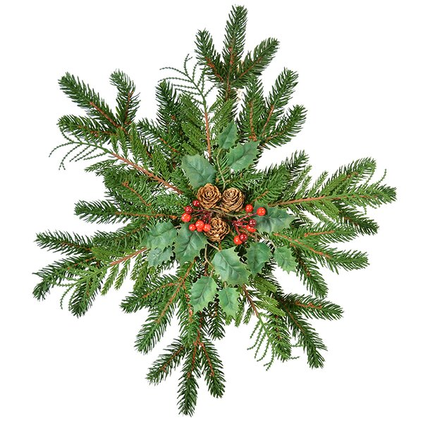 Pine Snowflake Centerpiece by The Holiday Aisle