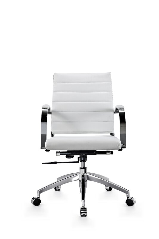 Stenberg Genuine Leather Office Chair By Latitude Run