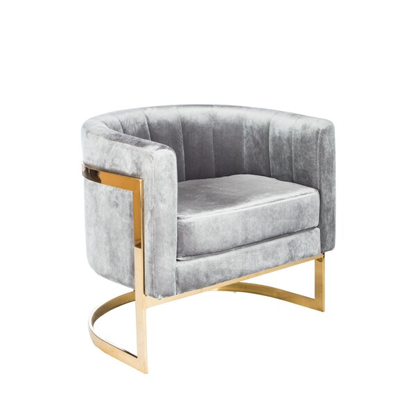 Northam Barrel Chair by Everly Quinn