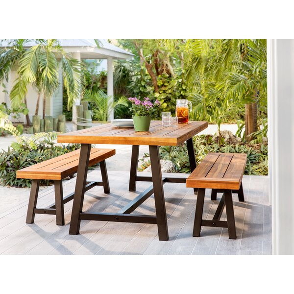 Bartlesville 3 Piece Dining Set by Trent Austin Design