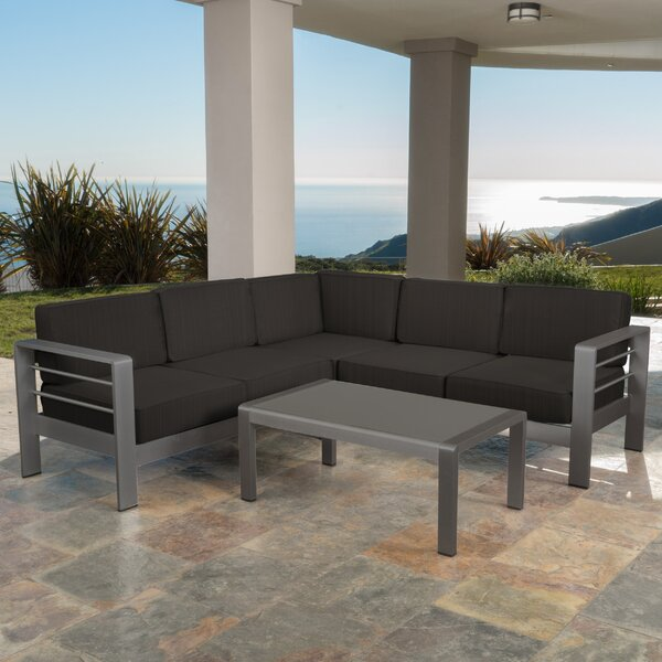 Crosstown 8 Piece Sectional Set with Cushions by Brayden Studio