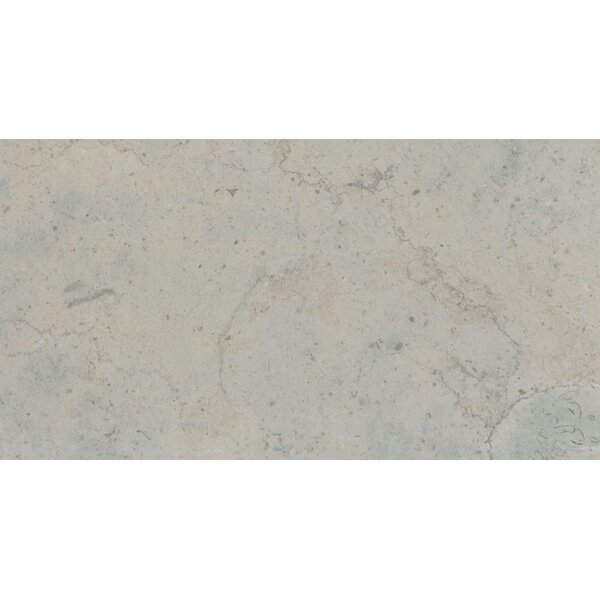 Duvel 6 x 12 Limestone Field Tile in Gray by The Bella Collection