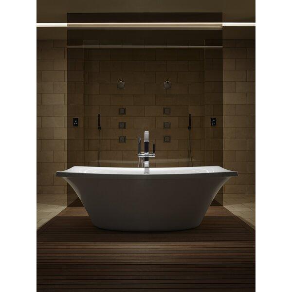 Escale Freestanding Bubblemassage 72 x 36 Soaking Bathtub by Kohler