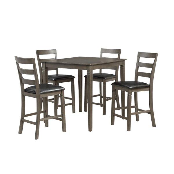 Emestine 5 Piece Dining Set by Charlton Home