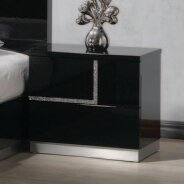 Lowrey 2 Drawer Nightstand by Wade Logan