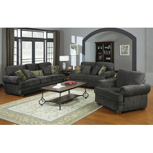 Metropole 3 Piece Living Room Set by Canora Grey