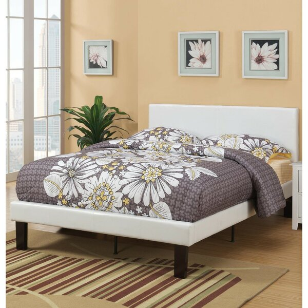 Baigelman Wooden Full Upholstered Standard Bed by Latitude Run
