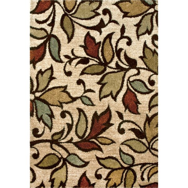 Caroline Beige Area Rug by Threadbind