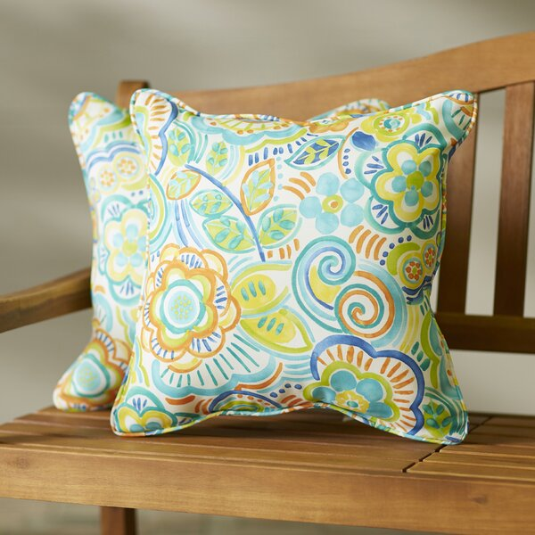 Stephon Indoor/Outdoor Throw Pillow (Set of 2) by Red Barrel Studio