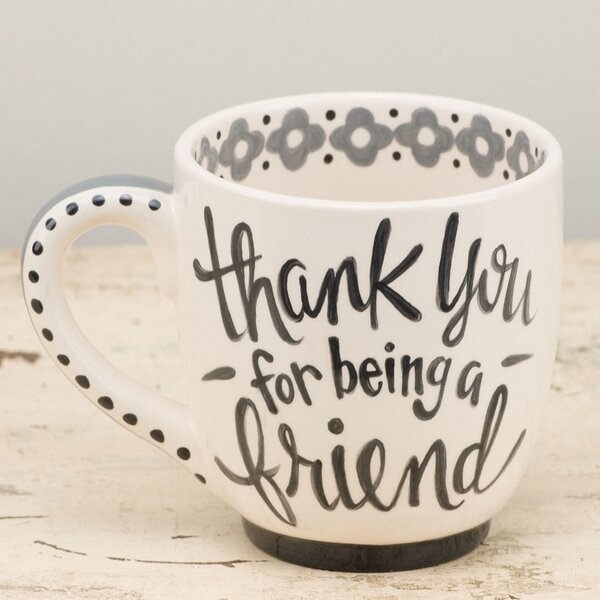 Thank You Friend Jumbo Mug by Glory Haus