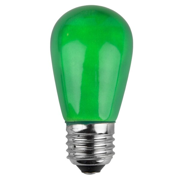 11W Green 130-Volt Light Bulb (Pack of 20) by Wintergreen Lighting