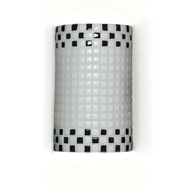 Mosaic Checkers 1-Light Wall Sconce by A19