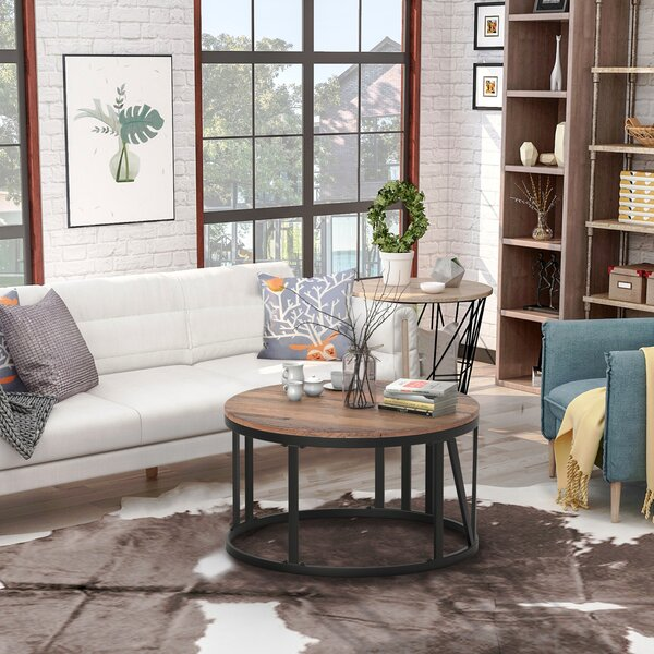Carlene Frame Coffee Table By Union Rustic