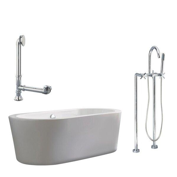 Ventura Apron Soaking Bathtub by Giagni