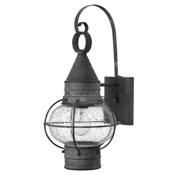 Jolie 1-Light Outdoor Wall Lantern by Longshore Tides
